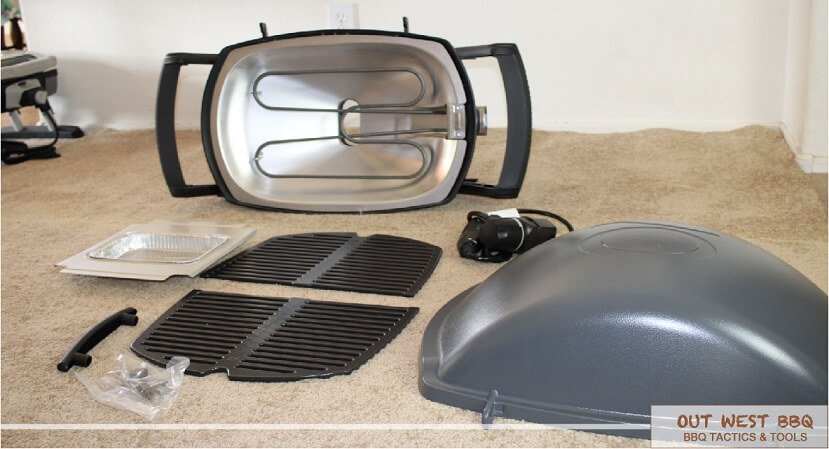 Weber Q 2400 parts and material